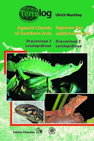 Agamid Lizards of Southern Asia. Draconinae 2 -Leiolepidinae