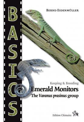 Keeping & Breeding Emerald Monitors, The varanus prasinus group