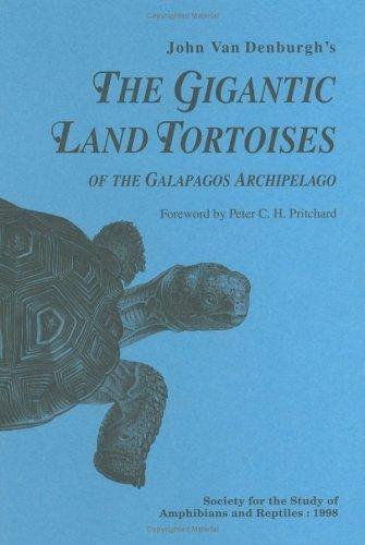 The Gigantic Land Tortoises of the Galapagos Archipielago