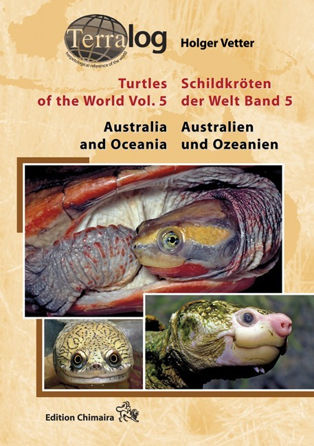 Turtles of the world vol 5. Australia and Oceania