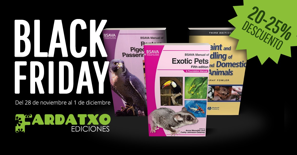 Black Friday en Fardatxo Ediciones